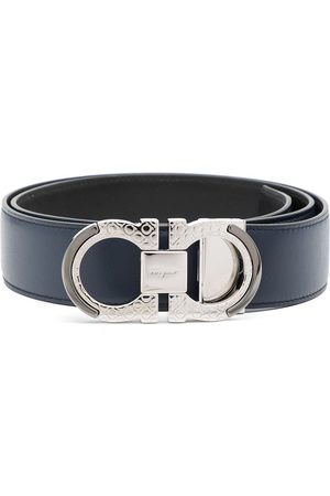 Salvatore Ferragamo Gancini-buckle reversible belt