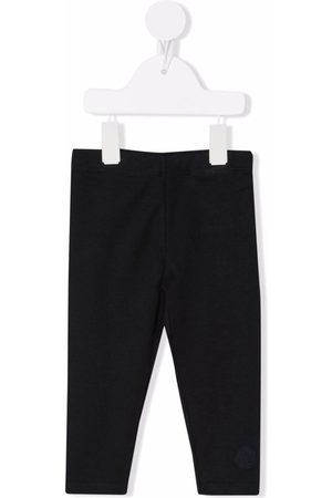 Moncler Leggings - Mid-rise cotton leggings