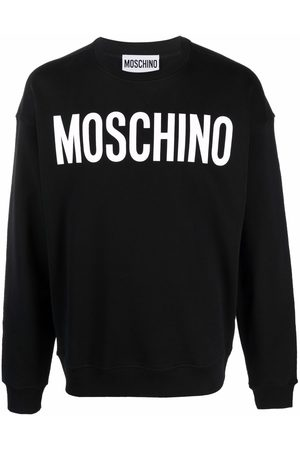 Moschino Logo-print crew neck sweatshirt