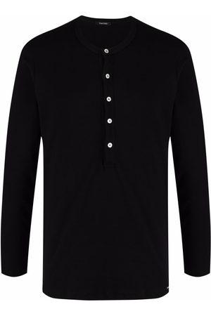 Tom Ford Round-neck Henley T-shirt