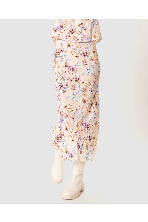 Cools Club Slip Midi Skirt - Skirts (Tie Dye) Slip Midi Skirt