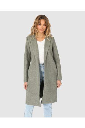 Madison The Label Jordan Coat - Coats & Jackets (Moss) Jordan Coat