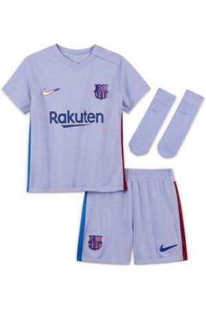 Nike F.C. Barcelona 2021/22 Away Baby & Toddler Football Kit