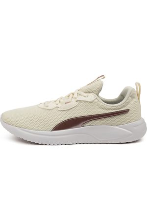 PUMA 195063 Resolve Metallic W Pm Marshmallow Lotus Sneakers Womens Shoes Casual Casual Sneakers