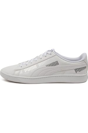 PUMA 381914 Vikky V2 Sig Renew Pm Gray Violet Sneakers Womens Shoes Casual Casual Sneakers