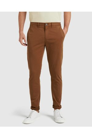 French Connection Slim Fit Chino Pant - Pants (CLAY) Slim Fit Chino Pant