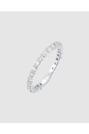 Elli Jewelry Ring Memoire Sparkling with Cubic Zirconia Crystals in 925 Sterling - Jewellery Ring Memoire Sparkling with Cubic Zirconia Crystals in 925 Sterling