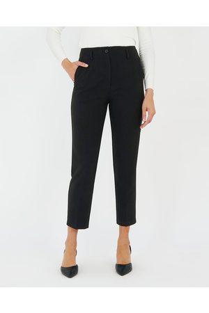 Forcast Women Skinny Pants - Madeline High Waist Slim Leg Pants - Pants Madeline High-Waist Slim Leg Pants
