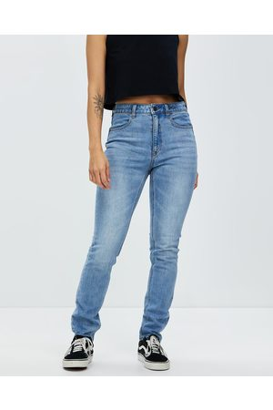 Volcom Liberator High Rise Jeans - High-Waisted (Ash ) Liberator High Rise Jeans