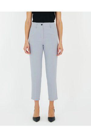 Forcast Madeline High Waist Slim Leg Pants - Pants (Zen ) Madeline High-Waist Slim Leg Pants