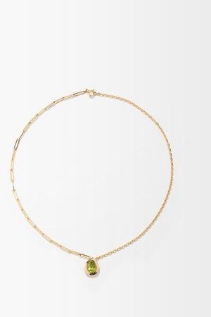 YVONNE LÉON Peridot & 18kt Gold Necklace - Womens