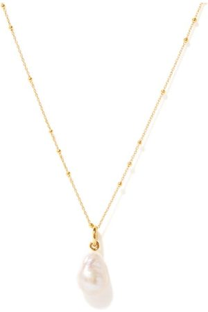 Missoma Pearl & 18kt Gold-vermeil Necklace - Womens - Pearl
