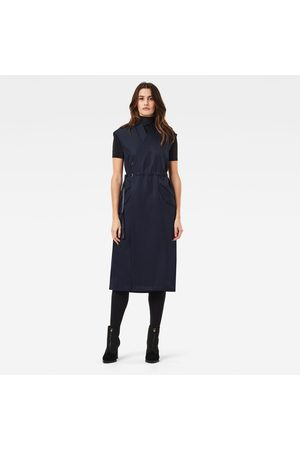G-Star Wrap Belted Dress