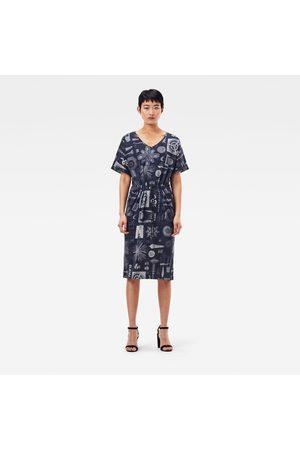 G-Star Adjustable Waist Allover Dress