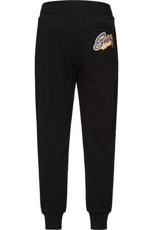 Evisu Men Joggers - Daruma-embroidered Logo Print Sweatpants