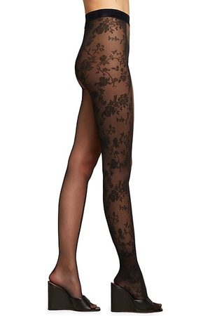 Wolford Split Lace Tights