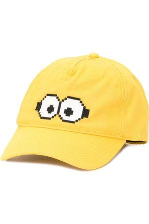 Mostly Heard Rarely Seen 8-Bit X Minions Tiny Goggles 8-Bit baseball cap
