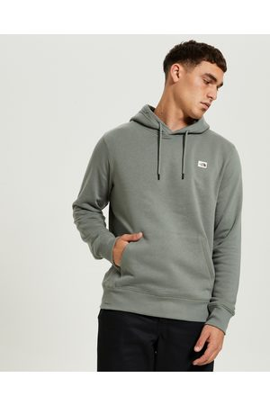 The North Face Men Sweaters - Heritage Patch Pullover Hoodie Agave