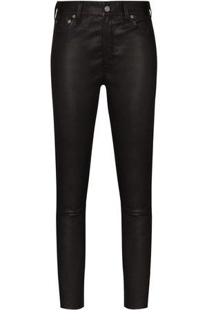 Polo Ralph Lauren Women Skinny Pants - Leather skinny trousers
