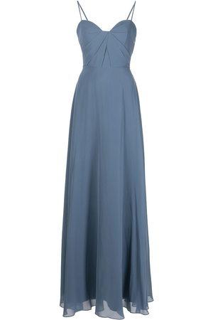 Marchesa Notte Women Maxi Dresses - Long spaghetti-strap dress