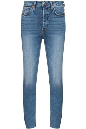 RE/DONE 90s High Rise Ankle Crop jeans