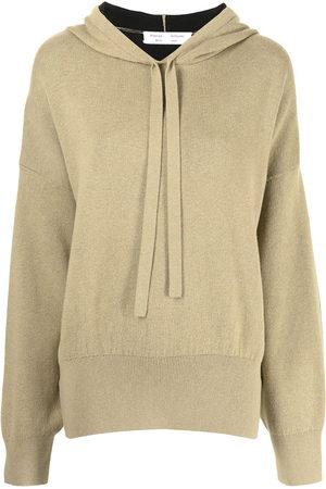 PROENZA SCHOULER WHITE LABEL Women Hoodies - Side-slit hoodie