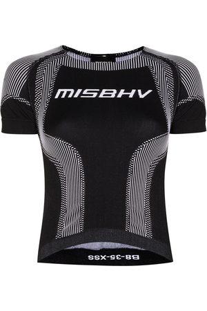 MISBHV Women Sports T-shirts - Sport Active seamless logo top