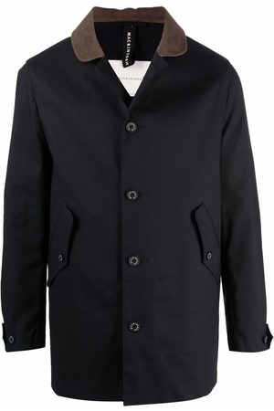 MACKINTOSH Men Raincoats - New Bloomsbury rain jacket