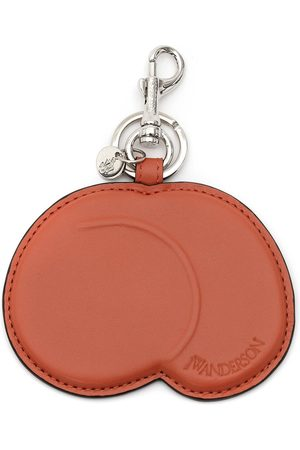 JW Anderson Peach leather keyring