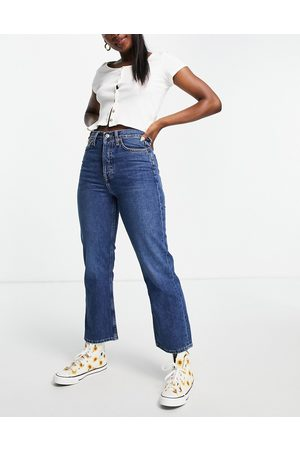 Topshop Dree bootcut jeans in