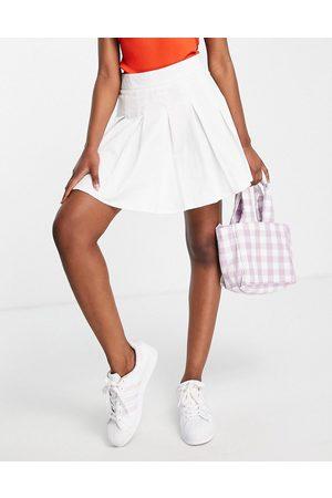 Lola May Pleated tennis mini skirt in