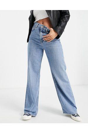 Topshop Wide leg jeans in
