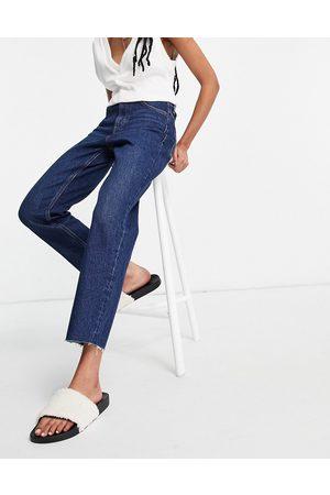 Topshop Straight jeans in indigo-Blue
