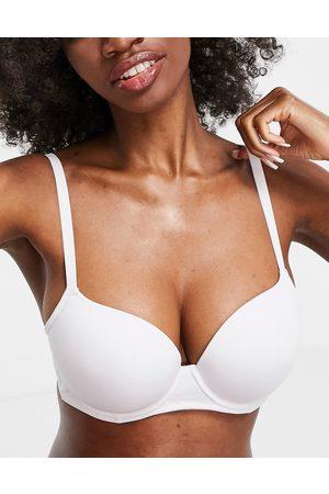 ASOS Women Padded Bras - Fuller Bust moulded microfibre t-shirt bra in