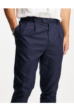 Gianni Feraud Co-ord linen pleated pants