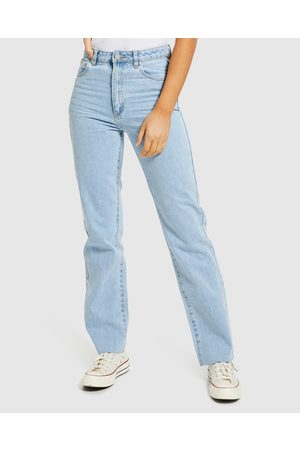 ABrand Women Straight - A 94 High Straight Jeans Walkaway