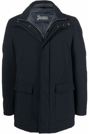 HERNO Single-breasted padded coat