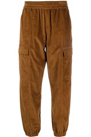 Marcelo Burlon County of Milan Cross corduroy track pants