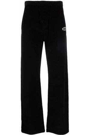 Marcelo Burlon County of Milan Men Joggers - Folk corduroy trousers