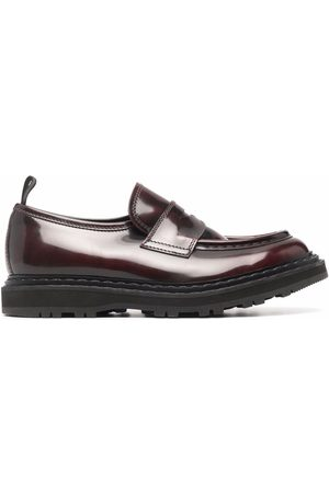Officine creative Lydona polished-leather loafers
