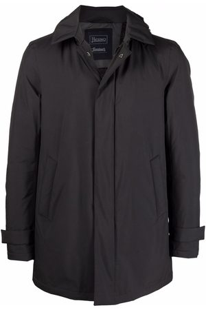 Herno Padded zip-front hooded coat