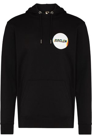 KLOSS X Browns logo-print hoodie