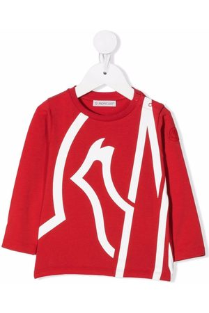 Moncler Enfant Oversize logo-print T-shirt