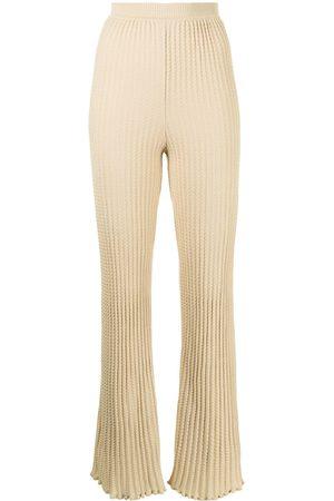 M Missoni Chunky-knit trousers