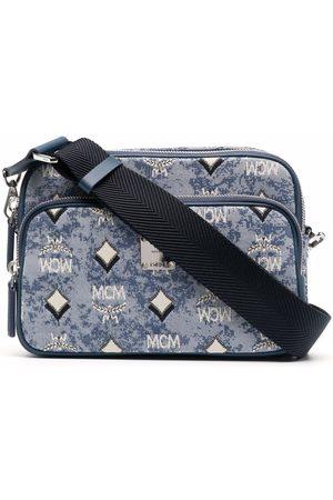 MCM Jacquard-logo crossbody bag