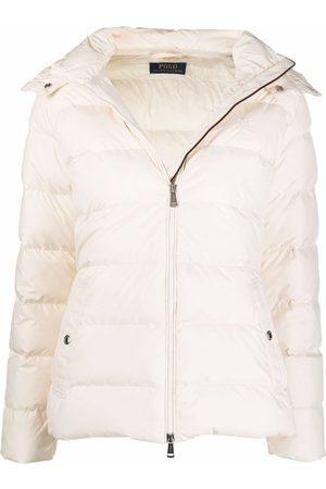Polo Ralph Lauren Women Winter Jackets - Embroidered-logo padded jacket