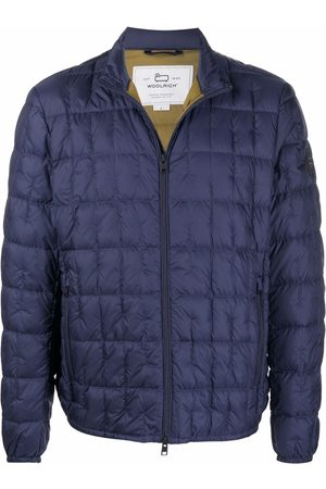 Woolrich Logo-patch padded jacket