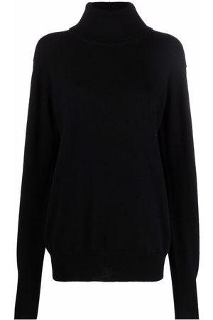 Jil Sander Women Turtlenecks - Roll neck cashmere jumper