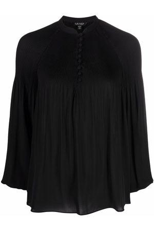 LAUREN RALPH LAUREN Women Long sleeves - Pleated long-sleeve shirt