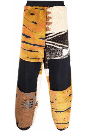 ARIES Men Pants - Patchwork slouchy trousers